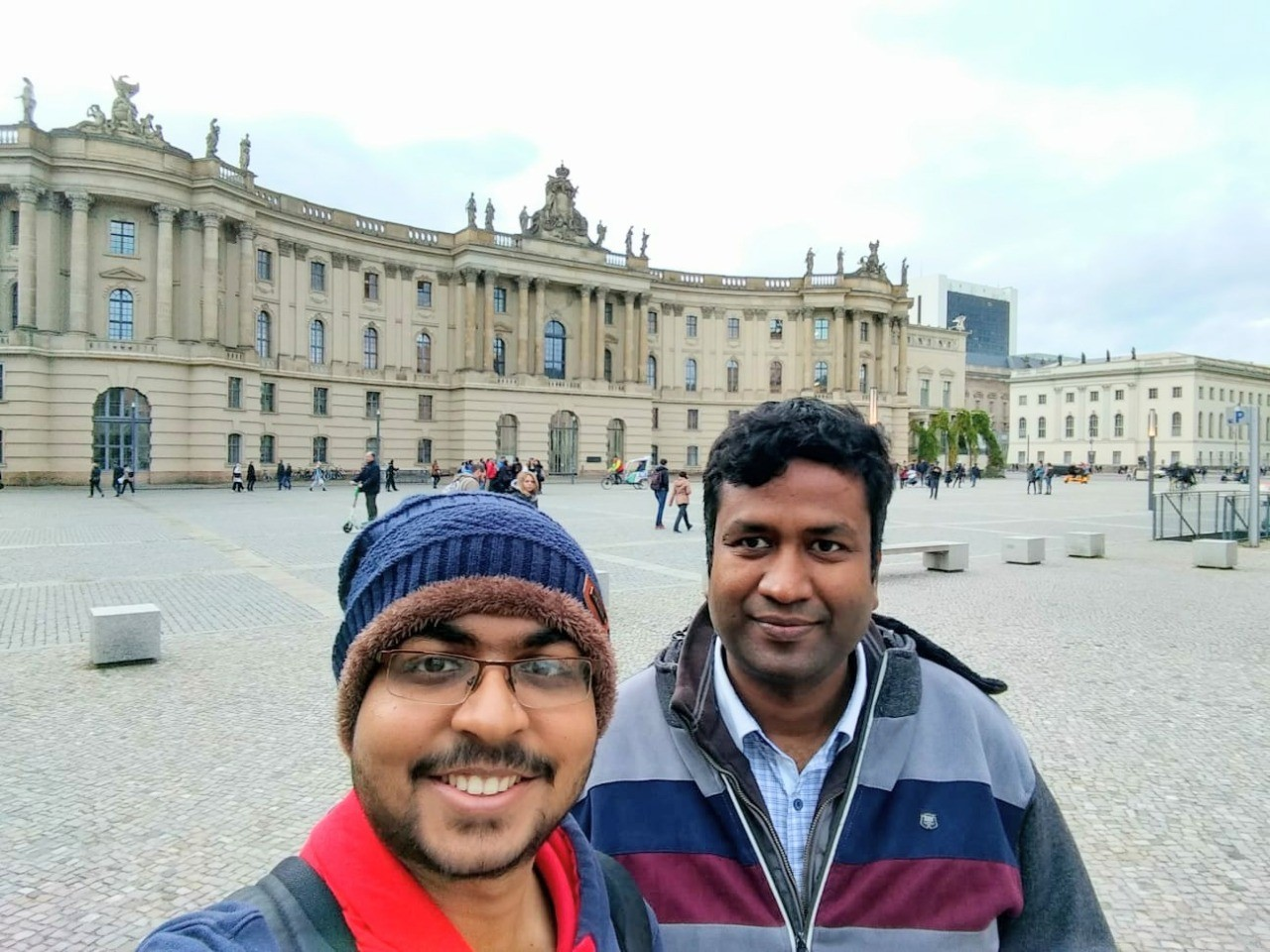 With Sourojit at Berlin